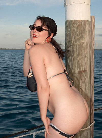 Nude On The Dock